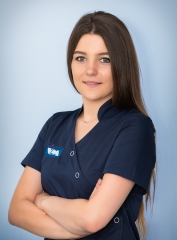Iga Dąbrowska - higienistka stomatologiczna